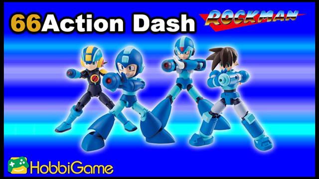 【玩具開箱】66Action Dash-Rockman (食玩)
