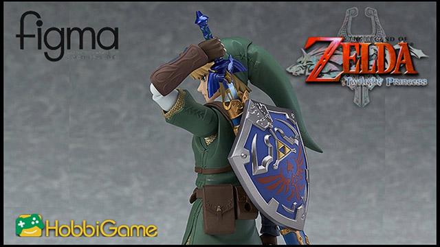 【HG玩具開箱】figma-薩爾達傳說 黃昏公主 Link
