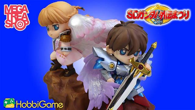 【玩具開箱】MEGAHOUSE-騎士希羅 與 天使莉莉娜