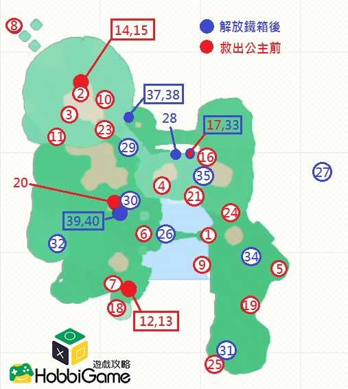 SUPER MARIO ODYSSEY瀑布國 MAP