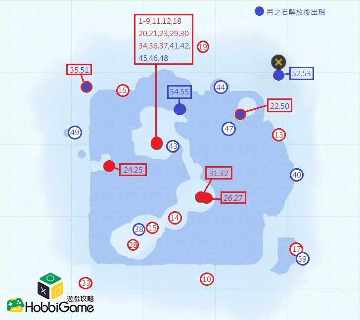 SUPER MARIO ODYSSEY雪之國 MAP