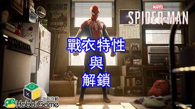 Marvel's Spider-Man戰衣特性與取得方法