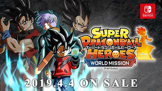 Super DragonBall Heroes World Mission
