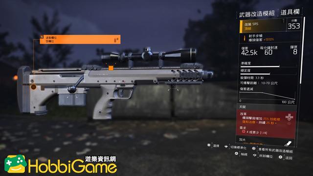 The Division 2 射手步槍/狙擊步槍(Marksman Rifles / Sniper Rifles)