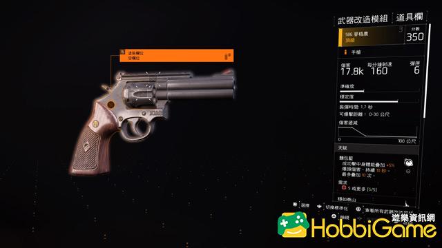 The Division 2 手槍/隨身武器(Pistols / Sidearms)