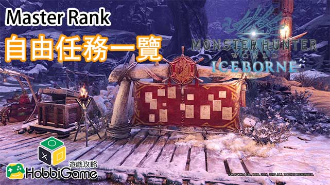 Monster Hunter World: Iceborne 自由任務
