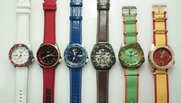 街頭霸王5, Street Fighter 5, SEIKO 5 Sports, 精工表, 手錶,