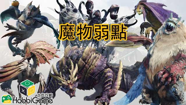 Monster Hunter Rise 魔物弱點