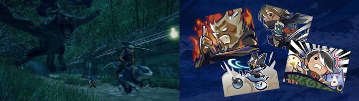Monster Hunter Rise 活動任務 特殊動作 裝備匯集